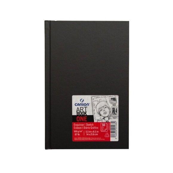 ART BOOK ONE CANSON A5 - 100G/M² - 98 FLS