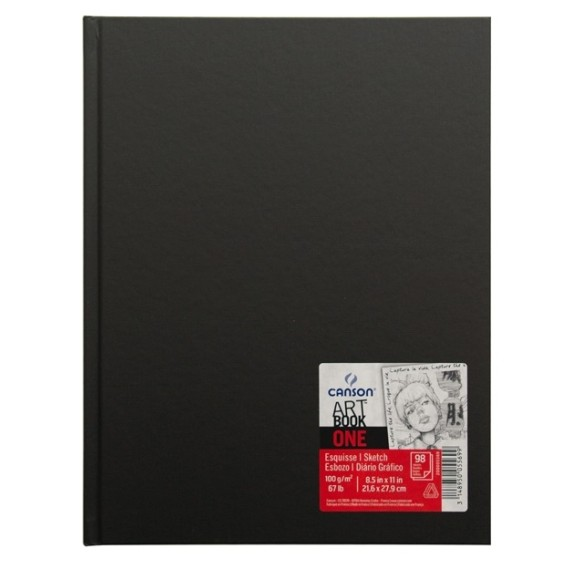 ART BOOK ONE CANSON A4 - 100G/M² - 98FLS
