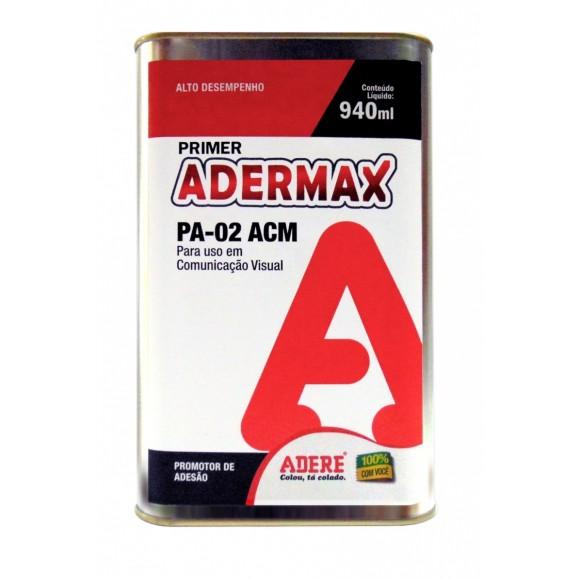PRIMER ADERMAX - PROMOTOR DE ADESÃO - (PA-02)  940ML