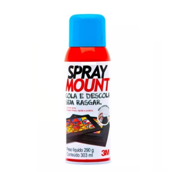 COLA SPRAY MOUNT SCOTCH 303ML 3M