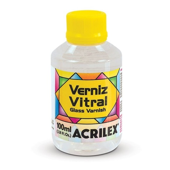 VERNIZ VITRAL INCOLOR 100ML ACRILEX