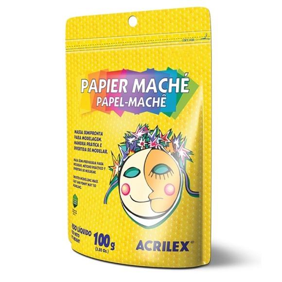 PAPEL MACHÊ 100G - ACRILEX