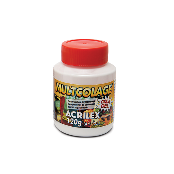 COLA DECOUPAGE GEL 120G MULTCOLAGE ACRILEX
