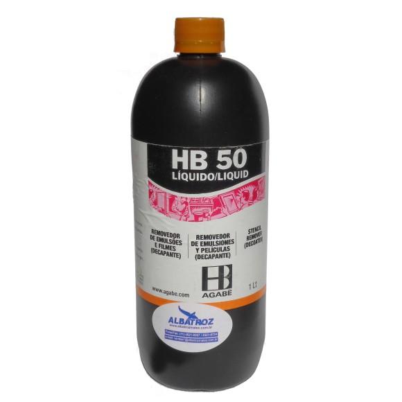 REMOVEDOR DE EMULSÕES HB-50 LÍQUIDO - AGABÊ