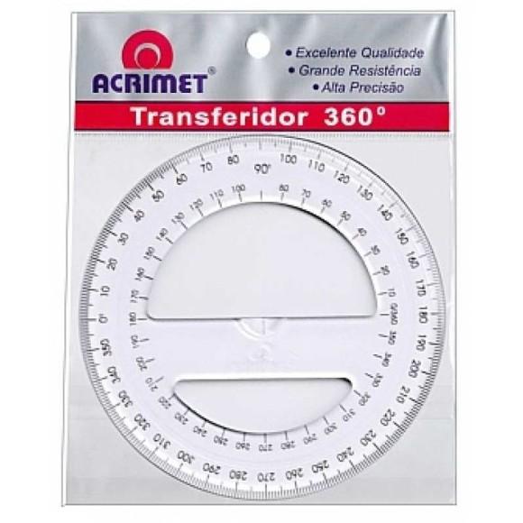 TRANSFERIDOR PLÁSTICO 360° ACRIMET