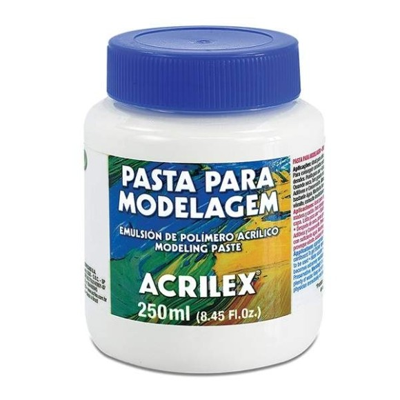 PASTA PARA MODELAGEM 250ML - ACRILEX