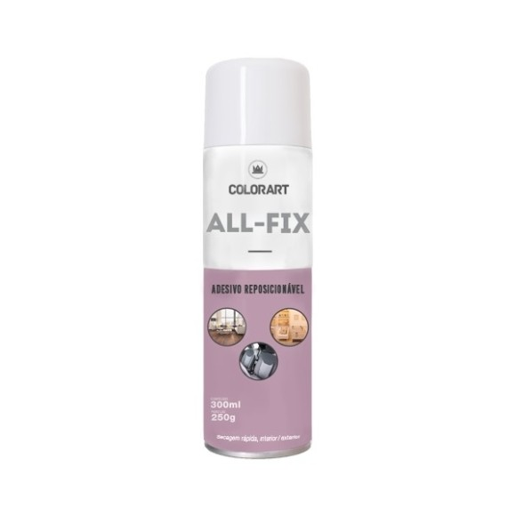 COLA SPRAY REPOSICIONÁVEL ALL-FIX - COLORART
