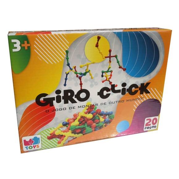 GIRO CLICK - JOGO DE MONTAR - VJ TOYS