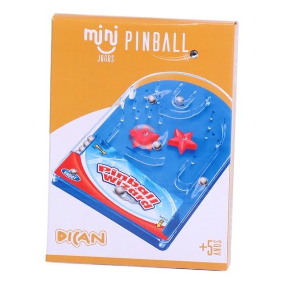 MINI JOGOS PINBALL - DICAN