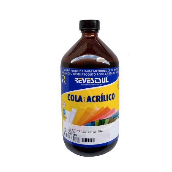 COLA P/ ACRÍLICO REV-500 500ML - REVESTSUL