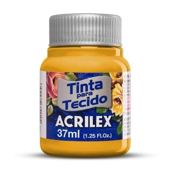 TINTA TECIDO FOSCA 37ML AMARELO OURO (505) - ACRILEX