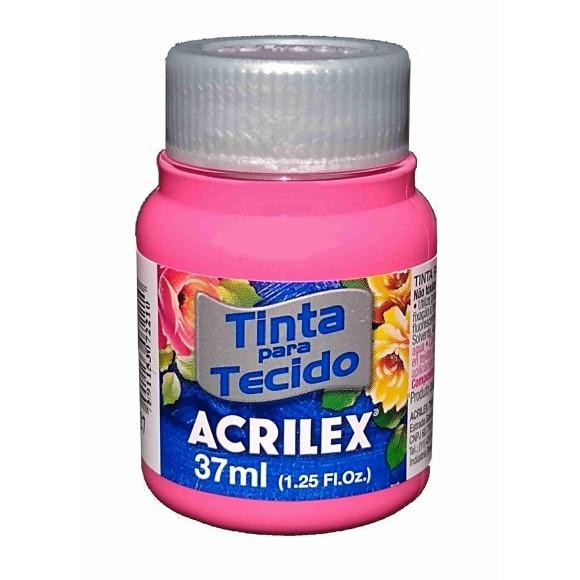 TINTA TECIDO FOSCA 37ML PINK (527) - ACRILEX
