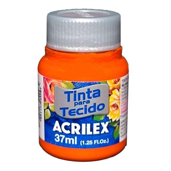 TINTA TECIDO FOSCA 37ML CENOURA (576) - ACRILEX