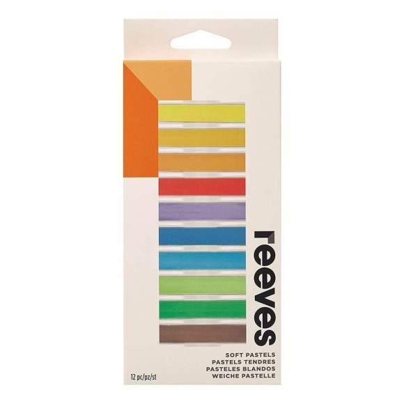 GIZ PASTEL SECO 12 CORES - REEVES