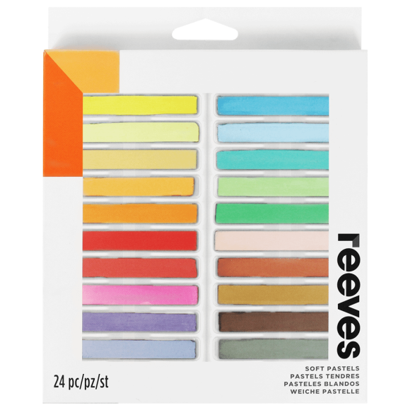 GIZ PASTEL SECO 24 CORES - REEVES