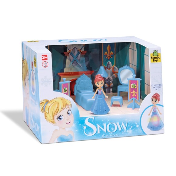 JUDY HOME QUARTO PRINCESA SNOW