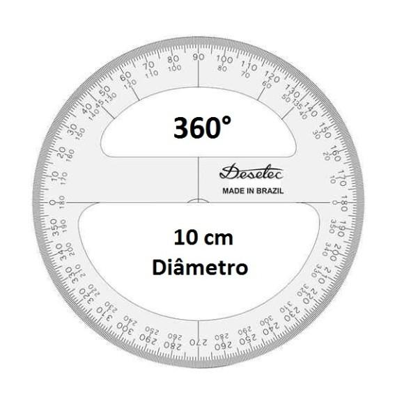 TRANSFERIDOR ACRÍLICO 360° 10CM - TRIDENT DESETEC
